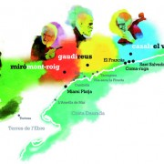 Els punts de la ruta del paisatge dels genis