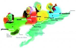 Ruta del Paisatge dels Genis, Reus, Mont-roig, el Vendrell i Horta de Sant Joan