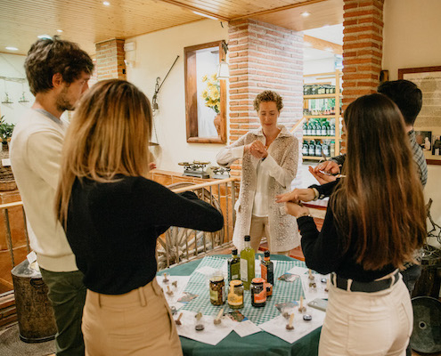 Tasting the Olive Oil Experience